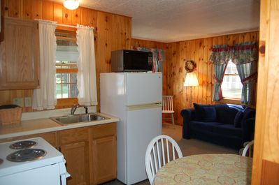 View of kitchen in a 2 bedroom cottage