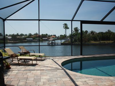 Photo for Widewater views,New,Comfortable,Private,1/2 acre,Large Lanai, 40 ft pool