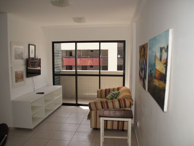 Photo for For rent brand new apt 2 blocks from the beach. - 1 suite
