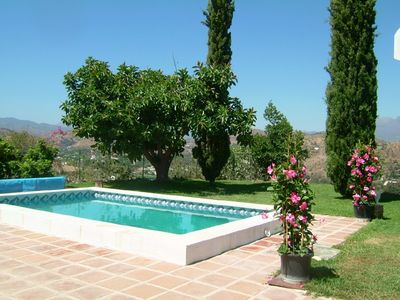 Photo for Beautiful secluded villa, private pool, stunning views, garden, wifi/a/c, 4 be