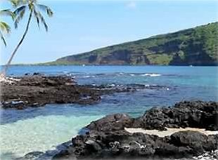 Beautiful Kealakekua Bay right outside your door