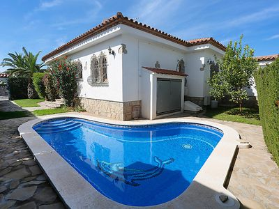Photo for 3 bedroom Villa, sleeps 6 in l'Hospitalet de l'Infant with Pool, Air Con and WiFi