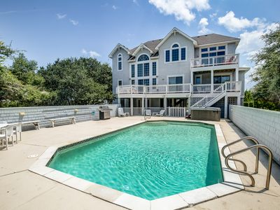 Photo for Reflections | 750 ft from the beach | Private Pool, Hot Tub
