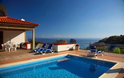 Photo for Villa Ricardo - A luxury villa with HEATED POOL and magnificent SEA VIEWS!