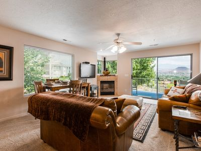 Photo for 605 | ELEVATOR ACCESS, PRIVATE BALCONY WITH BEAUTIFUL MOUNTAIN VIEWS, AND MORE!