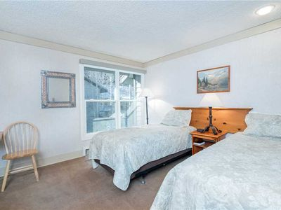 Photo for Mountainside Inn Hotel Room With Two Twin Beds
