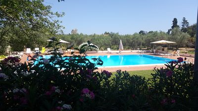 Photo for CASALE ULIVETO DA VALERIA, A GREEN OASIS WITH POOL AND TWO STEPS FROM THE SEA
