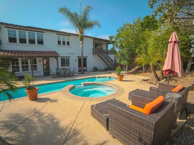 Photo for Beautiful home in Leucadia near beautiful beaches, Large Home with Pool and Spa!