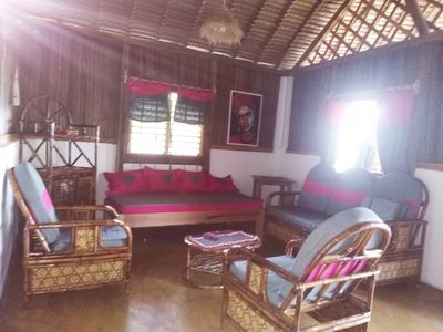 Photo for Villa BAOBAB fully equipped for 8 people, feet in water, sea view 180 °
