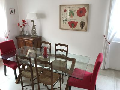 Photo for Charming duplex apartment with terrace, in the heart of Saint-Raphaël