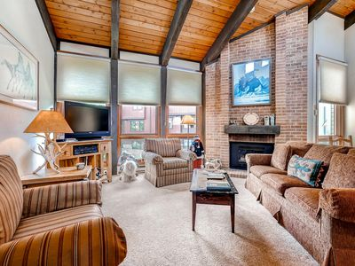 Photo for Top Floor Condo with Vaulted Ceilings - Easy Access to Hike/Bike Trails