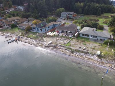 View of the Cabin from the Drone at 300 feet