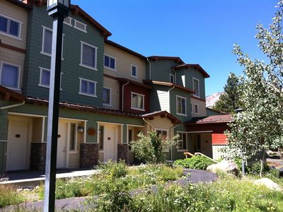 Photo for Mammoth Greens Newer Modern Townhome on Golf Course, 2 Bedroom 1 Sofa