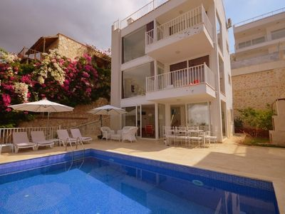 Photo for Brand New Luxury Villa With Private Pool  Overlooking Kalkan Bay