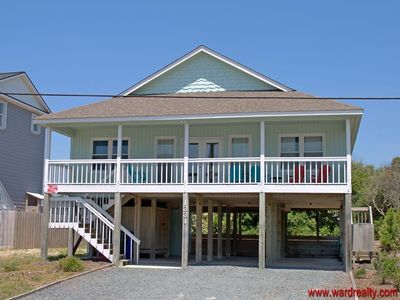 Photo for Beach Bofs - Covered Porch!!