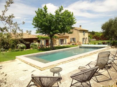 Photo for Between alpilles and Luberon - beautiful Mas Private pool Free Wifi