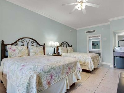 Photo for 2 Queen Beds / Hotel that is Steps from the Beach / Pet Friendly!