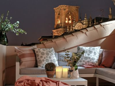 Photo for The Best BibRambla Ultimate Luxury Penthouse with private terrace