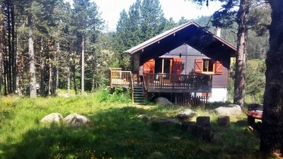 Photo for Detached chalet of 125 m², ski resort of Formiguères, Pyrénées Orientales