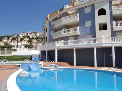 Photo for Apartment MARCOMAR 6/8  in Alcocéber/ Alcossebre, Costa del Azahar - 6 persons, 3 bedrooms