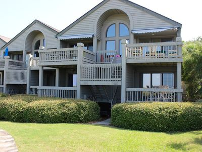 Photo for Amazing End-Unit Villa w/ Water/Beach Views! Dog Friendly! 5-Star!