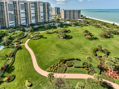 Photo for Gorgeous beach view condo on 17th floor with upscale amenities