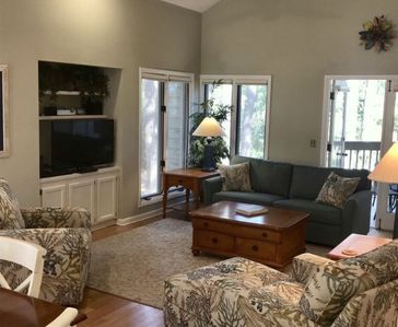 Photo for Gorgeous updated 2 bedroom villa in St. Andrews Common Palmetto Dunes