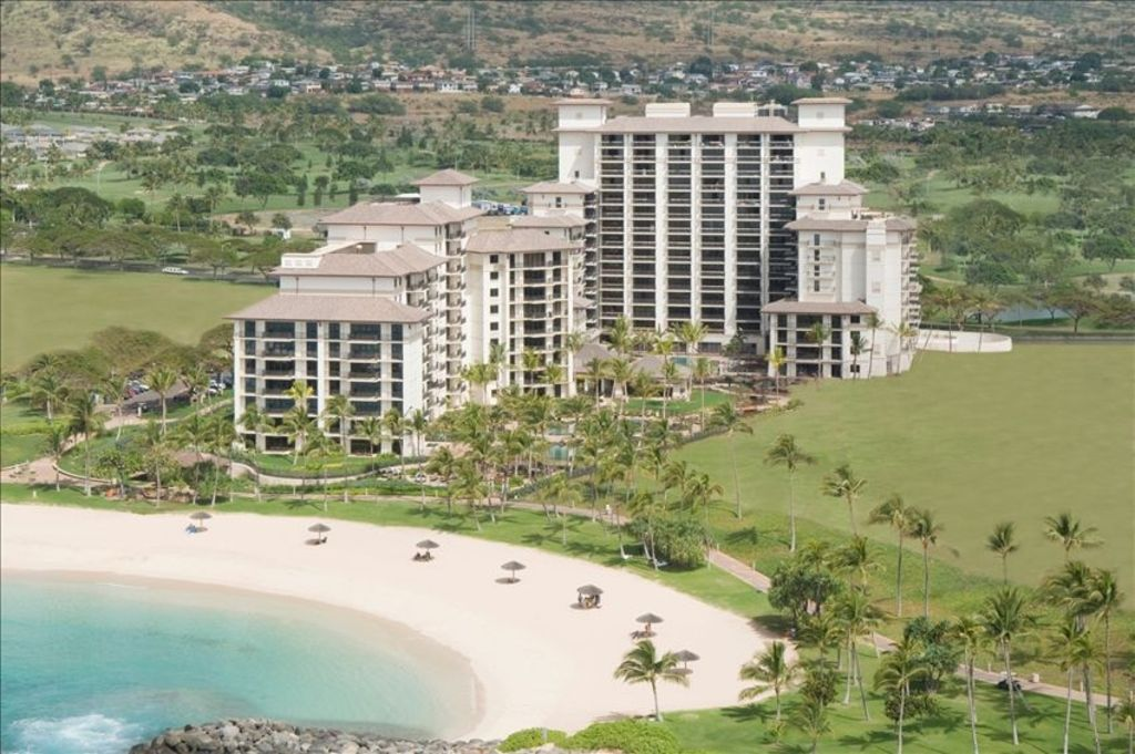 Ko Olina Beach Resort Nestled On The Sandy Ss Of Honu Lagoon
