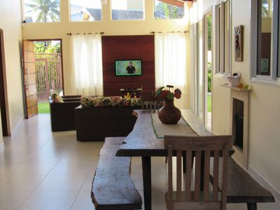 Photo for ToqueToque Peq, charming house, very comfortable, quiet street, 180m from the beach