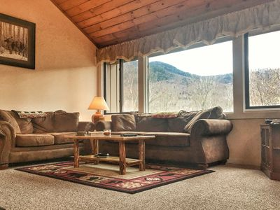 Photo for Magnificent Loon Mountain Condo Retreat With Amazing Views At Village Of Loon