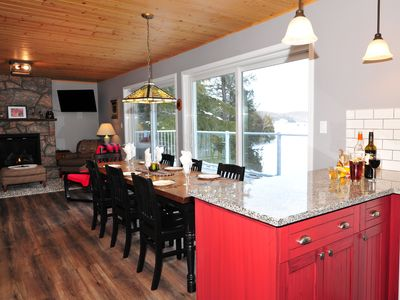 Photo for Muskoka Maple Cottage, 4 Bedrooms, 2 baths, beautiful view, located on quiet bay