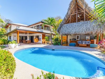 Photo for 🌴Steps to beach and yoga~Modern~24/7 Security~4Br~Pool-->Casa Prana