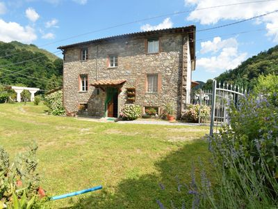 Photo for Cottage with private pool, located close to the natural reserve of the Apuan Alps