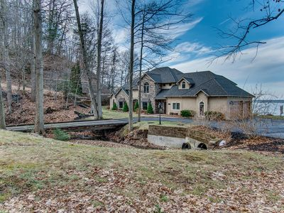 Photo for Dragonfly Landing: luxury private vacation home on the shores of Seneca Lake