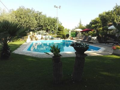 Photo for 'Villa Cleo' Charming cottage with large garden, swimming pool near golf course