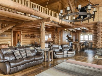 Photo for Stone Lodge-Amazing views, hot tub, ATV Trails!  Perfect home away from home!