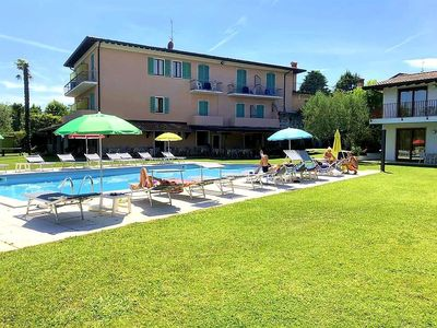 Photo for Molino apartment with pool directly by the Lake - 302