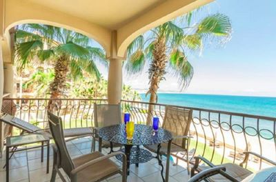 You deserve a vacation! Picture yourself here! Deck with views of the waves!