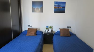Photo for 2 new rooms in the center of Nerja, meters from the beach