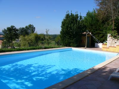 Photo for Les Figuiers - Traditional Family Farmhouse In The Tarn With Pool