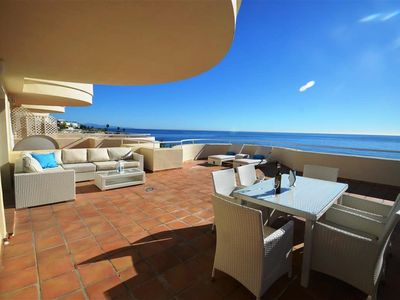 Photo for Spectacular apartment with huge terrace and panoramic views.