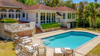 Photo for 37 Sea Lane - 7 Bedroom Home in the Heart of Palmetto Dunes