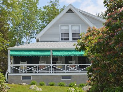 Thurston Point: Waterfront rental with deepwater dock on Annisquam River!