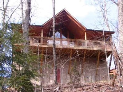 Photo for Spend your leisure time in our Leisure Time Cabin/we have WI-FI