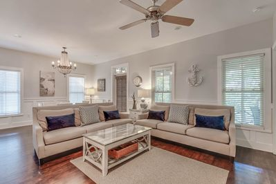 Welcoming, Comfortable Living Space