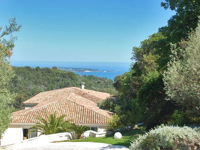 Photo for High luxury at this villa with panoramic sea views and 11000 m2 private grounds
