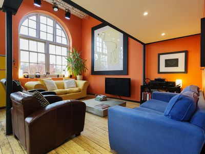 Photo for 2 bed property located in a converted school house, heart of London (Veeve)
