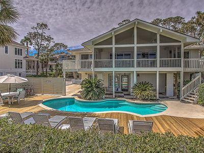 Photo for 13 Dune Lane - Oceanfront  & Large Screened Porch