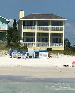 Photo for Luxury private beachfront single family home 4 blocks from John's Pass