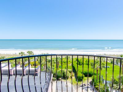 Photo for Oceanfront King 1 Bedroom Condo + Official On-Site Rental Privileges